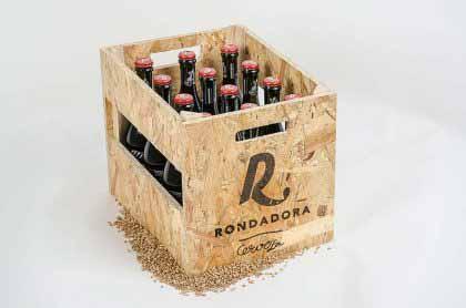 12 botellas Rondadora 50cl, caja de madera y abridor