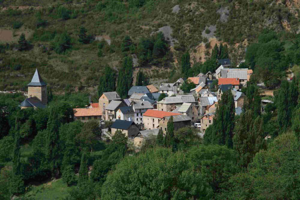 Sin, Pirineo aragonés. Ejemplo de despoblación rural.