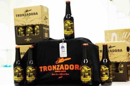 Pack 6 Tronzadora 33cl + camiseta