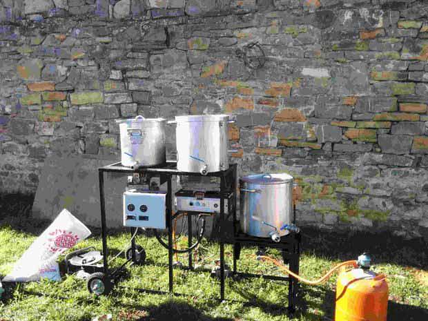 equipo de elaboración de cerveza casera artesana
