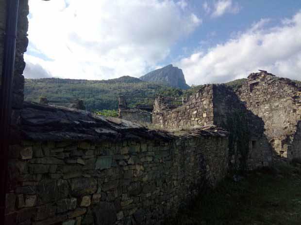 Santa Justa; pueblo abandonado