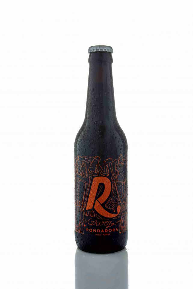 botella cerveza artesana serigrafia