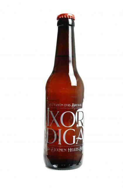 cerveza ixordiga elaborada por rondadora para la posada del Silvan de Tella