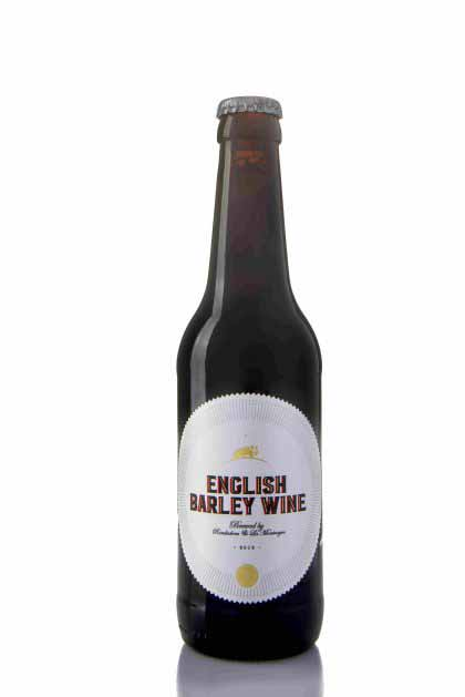 "ENGLISH BARLEY WINE ""RONDADORA&LA MONTNEGRE"""