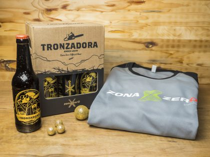 Pack Zona Zero 6 Tronzadoras y Camiseta